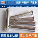 深圳文达五金厂半圆头实心铝铆钉厂家价格