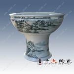 园林装饰品 陶瓷大缸 陶瓷大缸厂