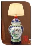 景德镇千火陶瓷陶瓷灯具 陶瓷吊灯 现代家居灯及工程定做批发
