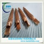 多股軟銅絞線熔壓一體化軟連接百世利供應