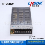 S单组输出开关电源S-250W-24V10A监控电源DC24