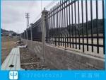 学校围墙护栏更换 防攀爬锌钢栏杆 湛江厂区栅栏