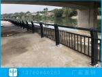 韶關橋梁景觀護欄安裝 公園復合管欄桿 河道防護欄