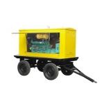西南成都柴油移动拖车型发电机组系列200KW厂家直销