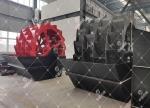 螺旋式輪式洗砂機-效率高-成本低-中基機械專業生產
