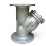 多尔普斯GL41H-16C铸钢法兰Y型过滤器 高温蒸汽过滤器
