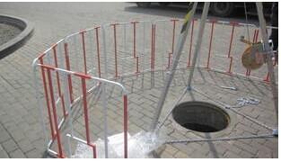 北京井口圍欄,熱力作業井口圍欄