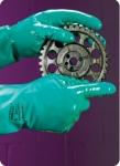 雷克兰丁腈橡胶专业防化手套