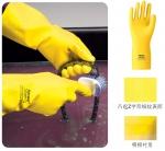 美国雷克兰纯天然橡胶专业防化手套