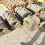 高錳鋼鑲嵌鎢鈦合金錘頭錳合金耐磨耐沖擊錳13甩錘錳18大型錘