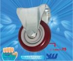 JY-301|定向脚轮|PU脚轮|工业脚轮
