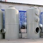 廢氣處理設備 廠家定制 pp噴淋塔 噴漆凈化塔 廢氣吸收塔