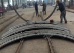 巷道网架壳体可缩性防护支架 U型钢支架 矿用支架