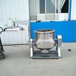 海鲜高温高压煮锅全自动不锈钢高压夹层锅