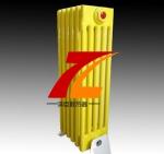 钢五柱散热器色彩亮丽 经久耐用 光滑亮丽-泽臣