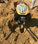手持挖坑机