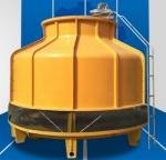 广东鑫邦10T玻璃钢冷却塔(圆型冷水塔)厂家特供