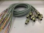 M12FD4C2020 防水连接器 电缆连接线