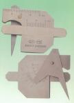成都销售全新焊接检验尺HJC40型