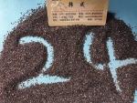 广西喷砂棕刚玉磨料 24#棕刚玉砂生产厂家