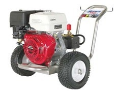 广场大理石地面汽油机驱动冷水高压清洗机APGF275090Z