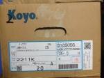 2211K进口轴承KOYO调心球轴承 实物拍照 大量库存