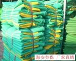 建筑工地警示安全网黄绿网又名黄条密目网黄条