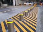 智能液压升降柱 升降路障 防冲撞设施 液压升降路障 升降柱路