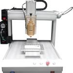 瑞德鑫供应厂家三轴全自动点胶机331不锈钢针头多头点胶