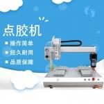 瑞德鑫全自动灌胶机551三轴平台单工位开关涂层全自动灌胶机器