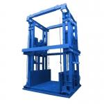 導軌式升降平臺 大噸位電動液壓固定升降機 廠房倉庫裝卸升降貨