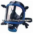 自吸式防毒全面罩,工业用防毒全面具,化学防护服