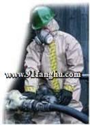 连体防护服、B级防护服|防酸服|半封闭式防化服