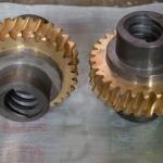 供应各种模数非标铜蜗轮 成都齿轮