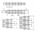 成都链条链轮供应商 SP系列高强度短节距滚子链