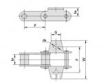 西南链条链轮供应商 C型钢制农机链及附件