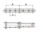 西南链条链轮供应商 YS型输送链附件 质量保障