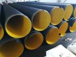 DN300HDPE管道,排污用雙壁鋼帶螺旋管道廠家,質量好
