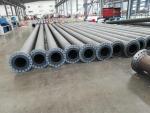 鋼襯礦漿管子、鋼襯排污管子、高耐磨鋼襯管子、