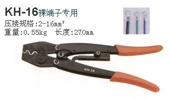 四川总代理专业供应 台湾OPT 棘轮式压接钳KH-16