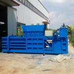 嘉善160吨全自动卧式废纸板液压打包机厂家