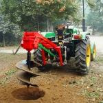 信阳小型挖坑机资料   植树挖坑机价格