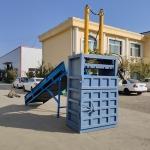 邢台废纸壳液压打包机压力   30吨服装液压打包机直销