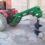新沂植树挖坑机  小型砖孔机价格
