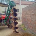 南宁植树挖坑机  电线杆挖坑机厂家