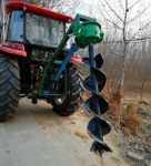 哈尔滨植树挖坑机  电线杆挖坑机厂家