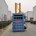 长春废旧油漆桶打包机 两项电立式打包机厂家