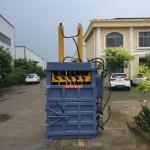 定西集装箱压缩打包机 双缸自动翻包打包机价格