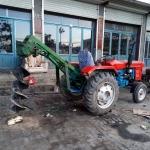 阿克苏电线杆挖坑机 螺旋钻孔机厂家