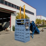 丽江废品工厂边角料压缩立式打包机厂家